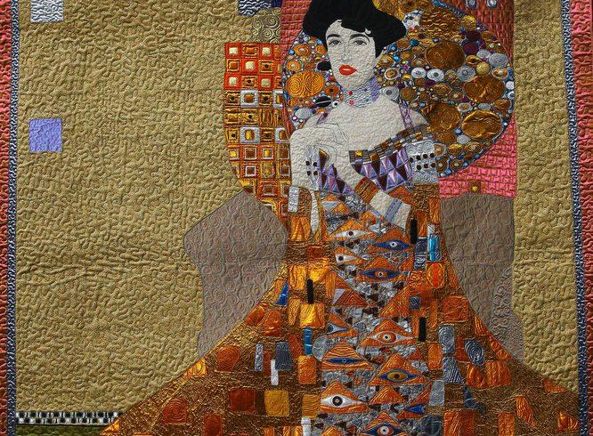 Art quilt by Yan Liu - machine quilting edit 3
