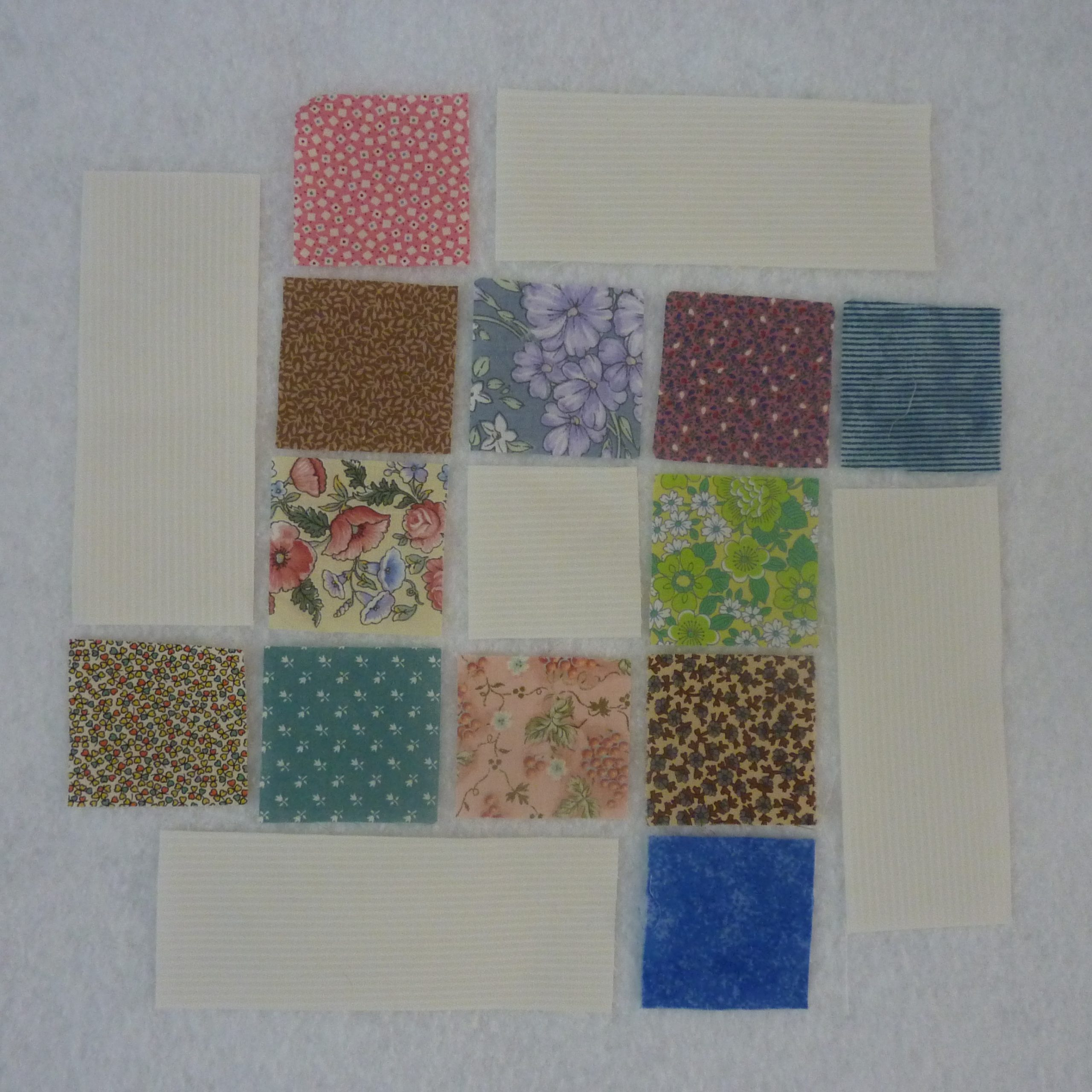 1. Patches for a Flying Squares block