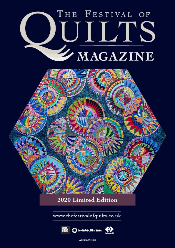 Festival of Quilt Magazine Front Cover