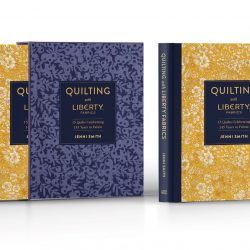 Books promo shot – Quilting with Liberty Fabrics