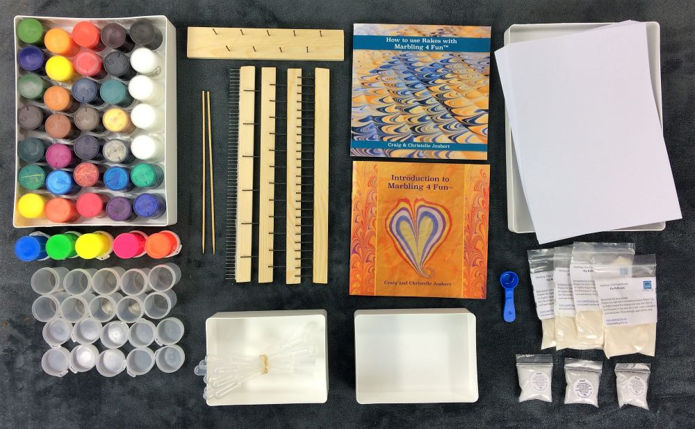 DELUX MARBLING KIT - BUSINESS IN A BOX