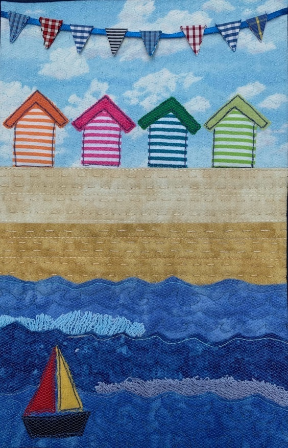 Day at the Seaside Mini Quilt Kit