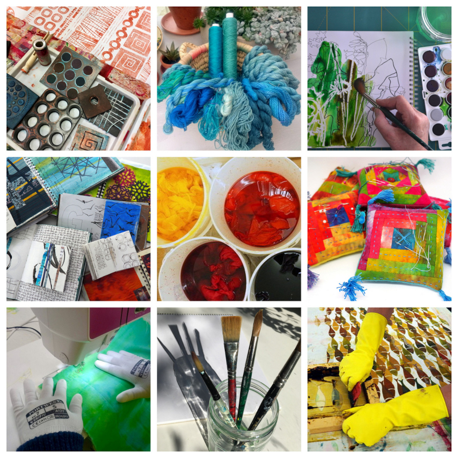 InStitches Studio courses and workshops
