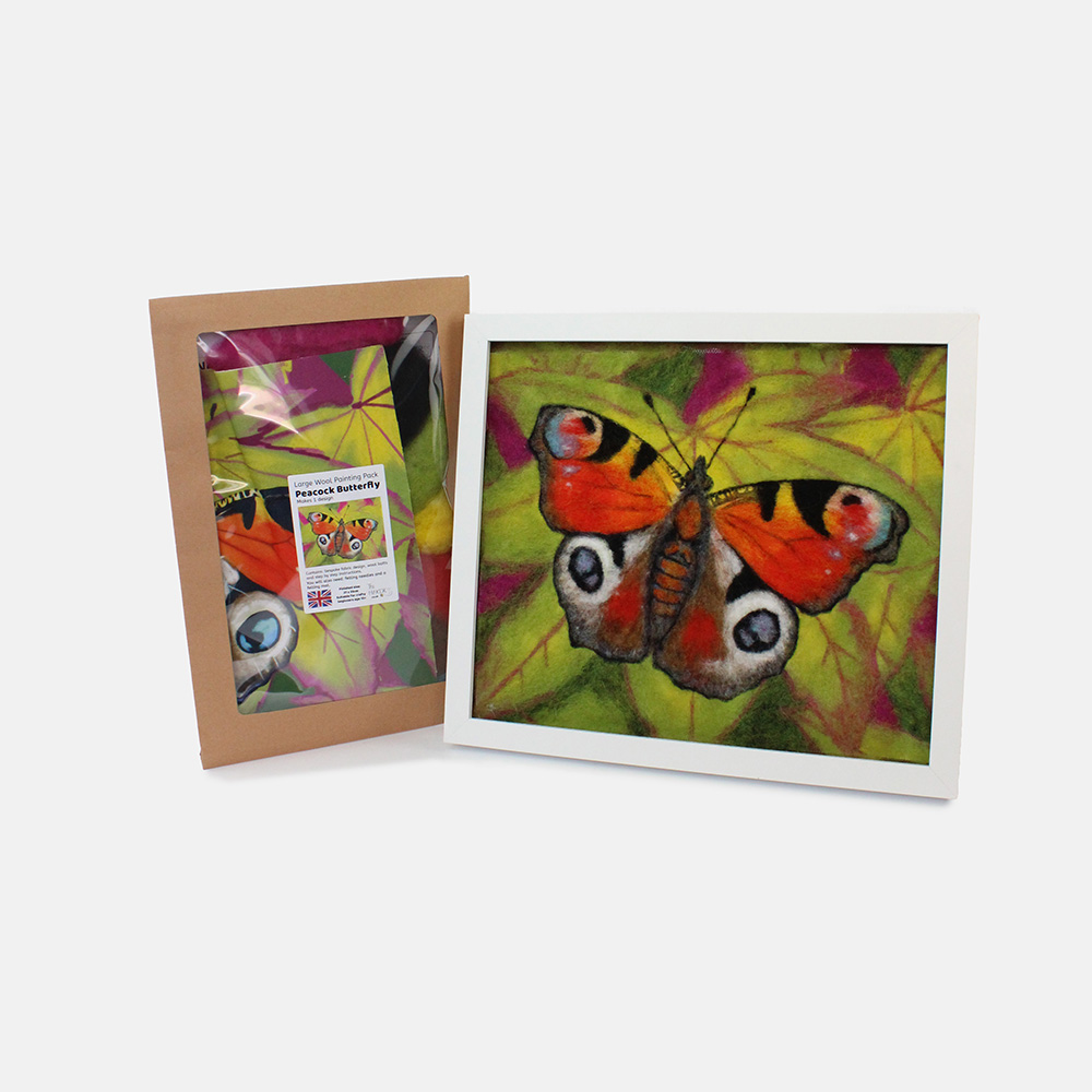 The Makerss Large Peacock Butterfly Picture Pack