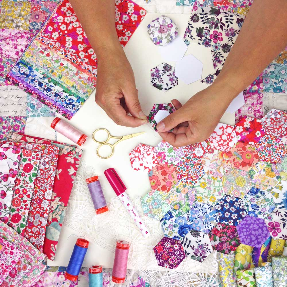 Alice Caroline, winners of a Queen's Award, to launch new Sewing Kits at Festival of Quilts. Stand No F17