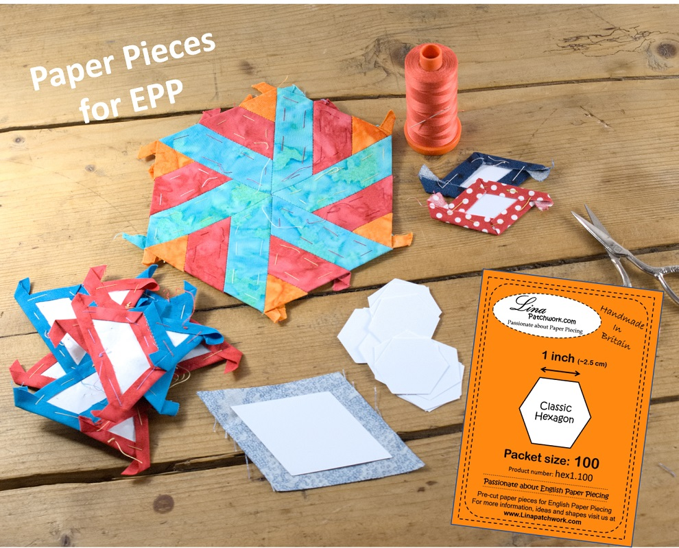 Paper Pieces for EPP