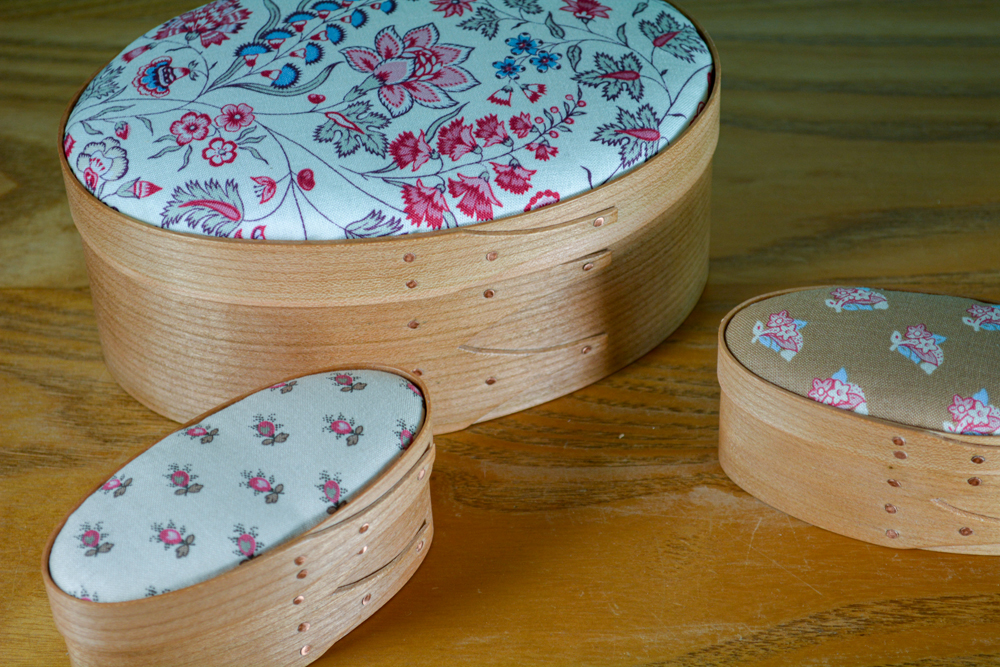 Covered Shaker Boxes