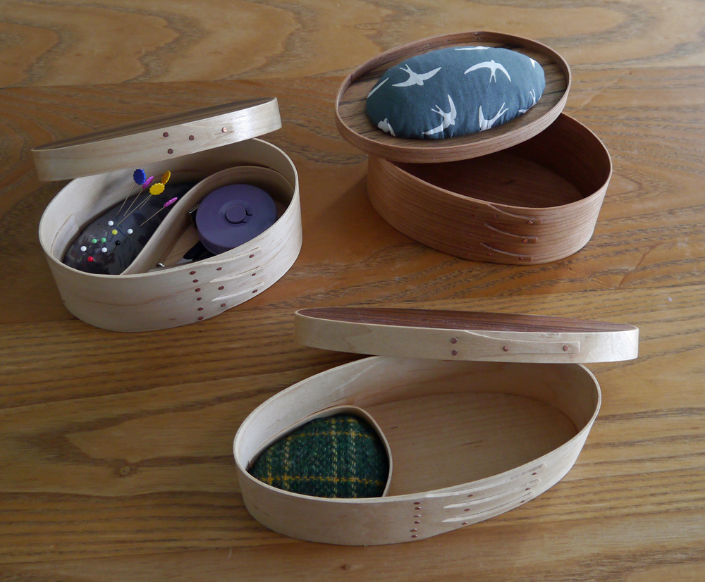 Small Sewing Boxes.