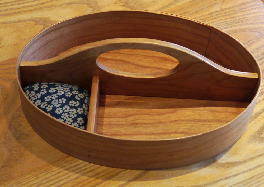 Traditional Shaker Tray with Pincushion