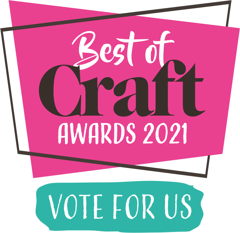 Craft Award logos 2021 Pink vote for us