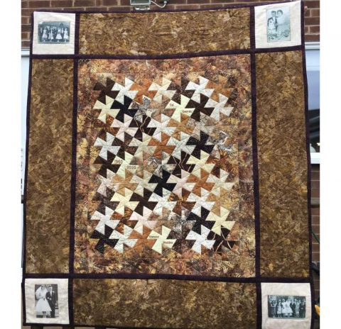 Diamond Wedding Anniversary Quilt