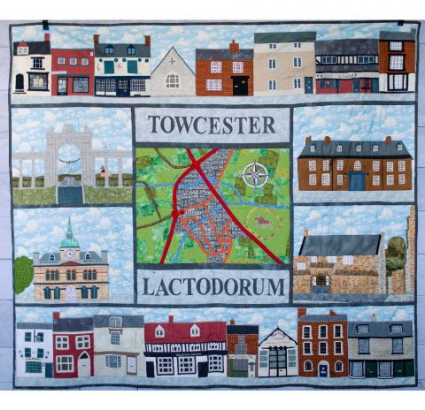 Lactodorum to Towcester: a quilted history