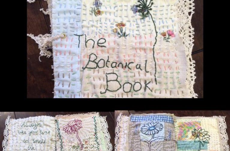 Ami James: Vintage Botanical Fabric Journal