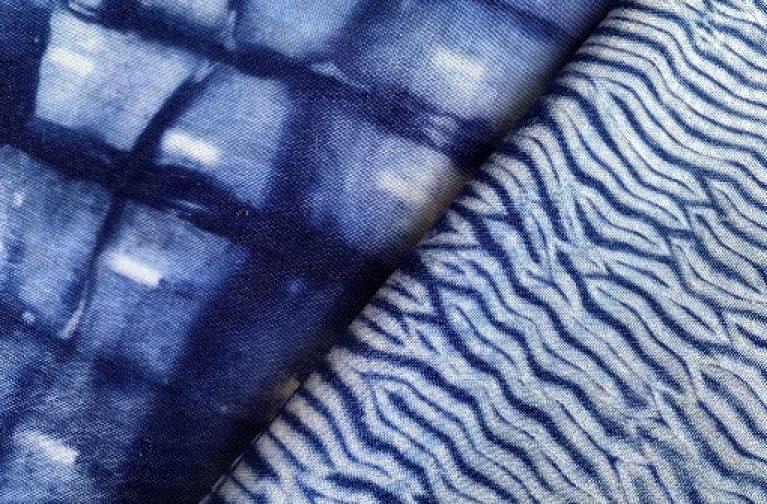 Angela Daymond: Shibori, Four Techniques, Two Ways to Dye
