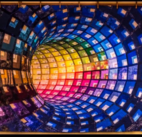 Blau de colors – El tubo