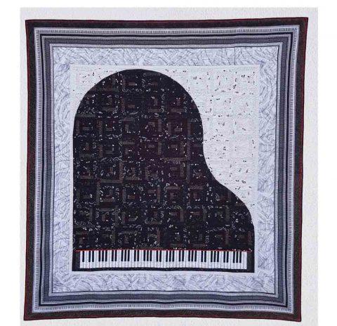 Daniel's Piano Quilt
