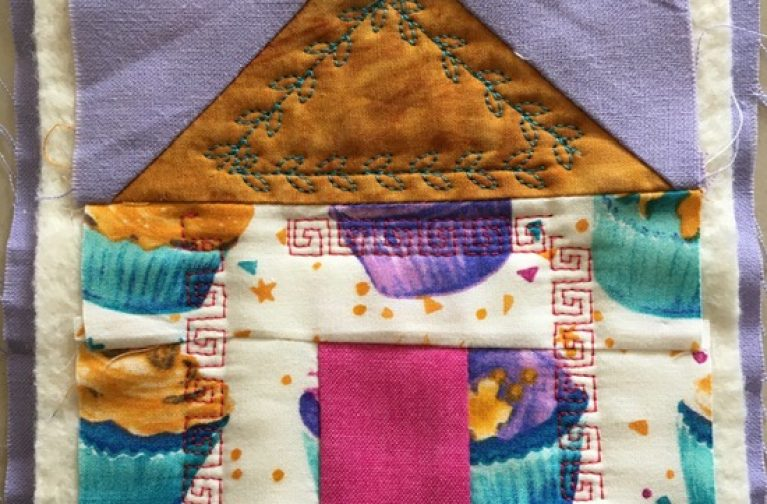 Young Quilter's Project by Linda Bilsborrow and Sheri Warren: Staying Safe House Block