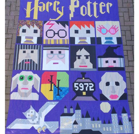 Isabelle's Harry Potter Quilt