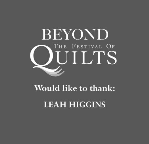Thank You Leah Higgins