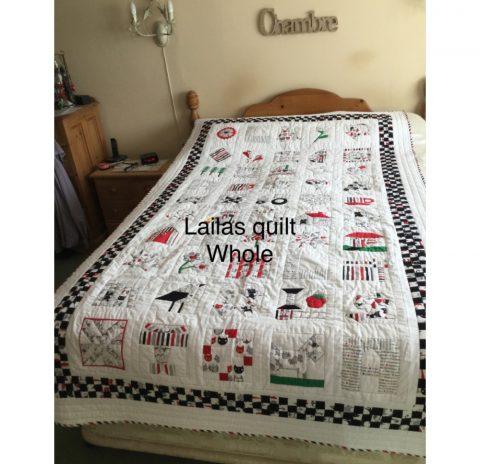 Laila's quilt