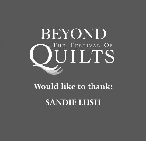 Thank You Sandie Lush