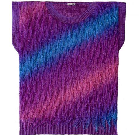 Knit in Funky Fur