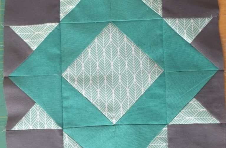 Sukhbeer Dryden: Piecing Patchwork – Girl's Favourite and Hidden Star 12.5inch Blocks