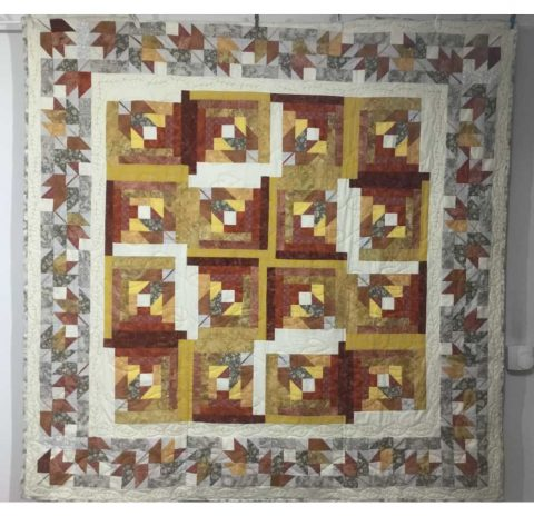 The Maple Leaf Quilt