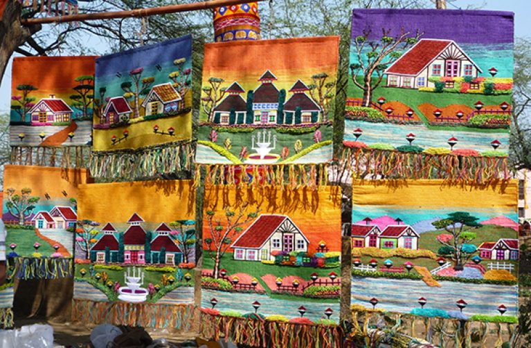 Wendy Gardiner: A Textile Tour of India